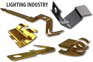 metal stampings for the lighting industry